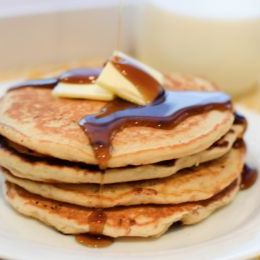 Receta de Autenticos Hot Cakes!