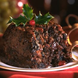 Receta de Christmas pudding