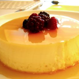 Receta de Flan Super Light